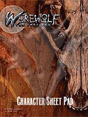 White wolf changeling character sheet