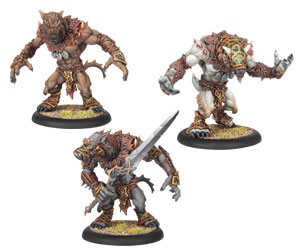 Circle Orboros - Feral/Pureblood/Stalker Warpwolf Heavy Warbeast Kit