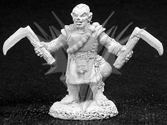 Biff, Male Halfling Monk