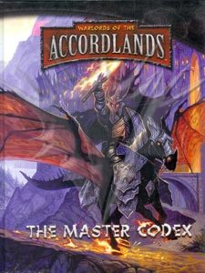 Accordlands RPG - The Master Codex