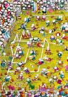 Puzzle 1000 pz. Mordillo - Crazy Football