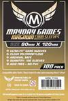 Board Game Sleeves - Bustine Protettive Magnum 80x120mm (50) - NERO