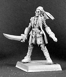 Blacknife Tom, undead pirate