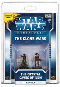 Star Wars Miniatures Map Pack 3 - The Crystal Caves of Ilum