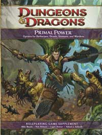 D&D - Primal Power