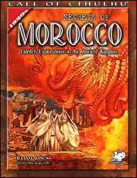 Call of Cthulhu RPG - Secrets of Morocco