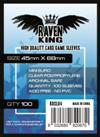 Raven King - Bustine Protettive 45x68mm (100) - Mini Euro