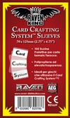 Raven King Sleeves - Bustine Protettive 70x120mm (100) Card Crafting System