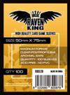Raven King - Bustine Protettive 50x75 mm (100)