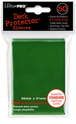Deck Protector - Bustine Protettive Standard (50) - Verde Matrix