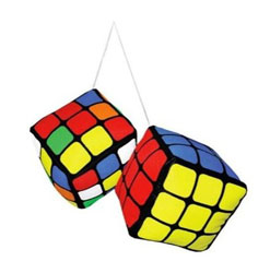 Cubo di Rubik Plush - Double Danglers