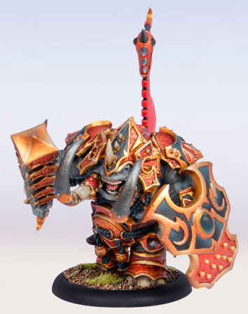 Skorne - Tiberion Character Titan Heavy Warbeast Upgrade Kit