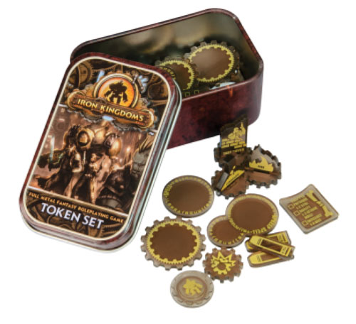MKII - Iron Kingdom Full Metal Fantasy RPG: Token Set