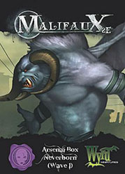 Malifaux 2nd Ed. - Arsenal Box 1 Neverborn