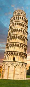 Puzzle 1000 pz. Sights - Vertical - Tower of Pisa