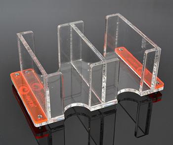 Dragonstore porta carte per giochi da tavolo 2l solid trasparente - Porta bandiere da tavolo ...