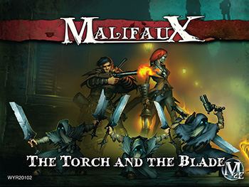 Malifaux 2nd Ed. - Sonnia Crew Guild (6) (Torch&Blade)