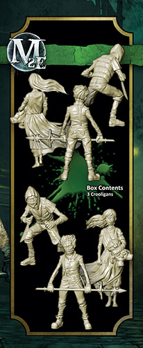 Malifaux 2nd Ed. - Crooligans (3 Pack) - Resurrectionist