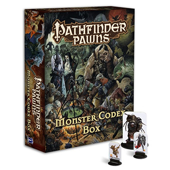 Pathfinder - Monster Codex Box - Segnalini dei Mostri