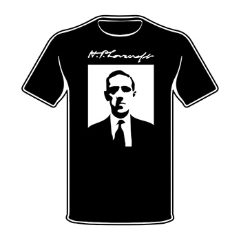 Il Richiamo di Cthulhu T-Shirt - H.P. Lovecraft