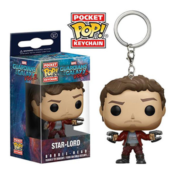 Pocket POP! Guardiani della Galassia 2 - Portachiavi Star-Lord