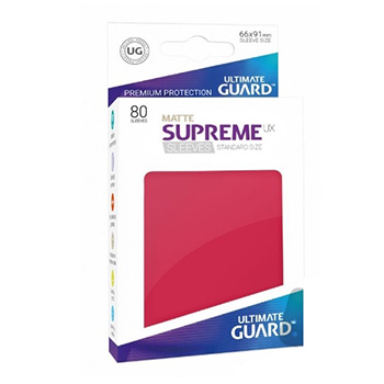 Supreme UX Sleeves - Bustine Protettive Matte Standard (80)