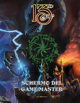 13th Age - Schermo del Game Master