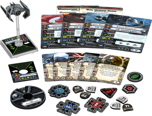 Star Wars X-Wing - TIE Aggressor