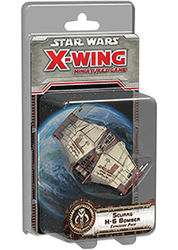 Star Wars X-Wing - Bombardiere Scurrg H-6