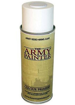 Army Painter - Spray Primer Bianco Opaco