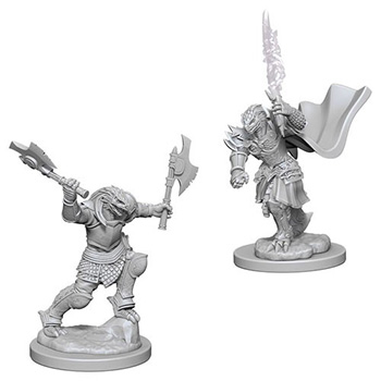 D&D Nolzur's Marvelous Miniatures - Guerriero Dragonide Femmina