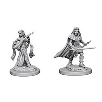 Pathfinder Deep Cuts Miniatures - Bardo Umano Femmina