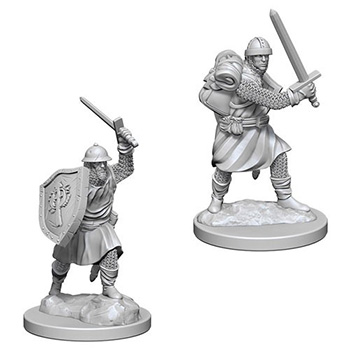 Pathfinder Deep Cuts Miniatures - Uomini D'Arme