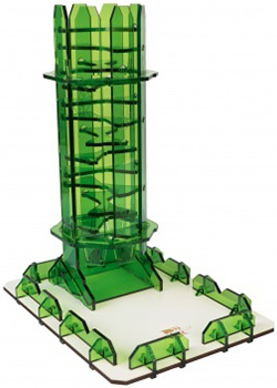 Dice Tower - Emerald Twister