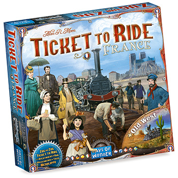 Ticket to Ride - Francia + Old West