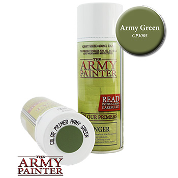 Army Painter - Spray Primer Verde Militare Opaco
