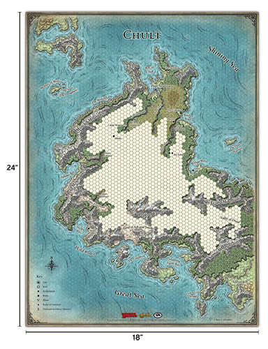 D&D 5th Edition - Tomb of Annihilation - Set di Mappe
