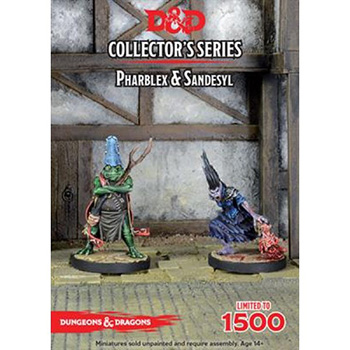 D&D Miniature Collector's Series - Tyranny of Dragons: Pharblex & Sandesyl