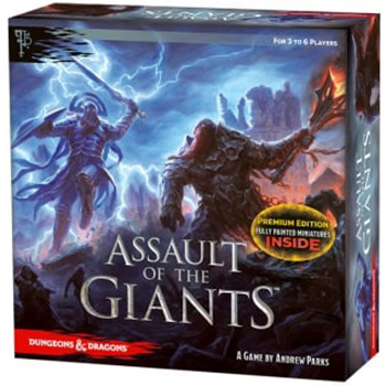 D&D Assault of the Giants Board Game - Premium Edition