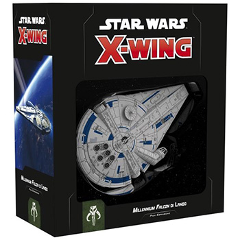 Star Wars X-Wing - Millennium Falcon di Lando (Seconda Edizione)