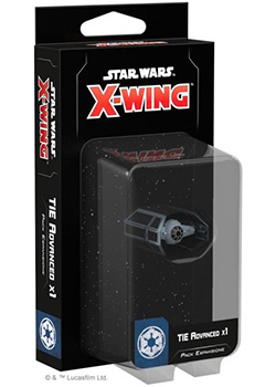 Star Wars X-Wing - Caccia TIE Advanced x1 (Seconda Edizione)