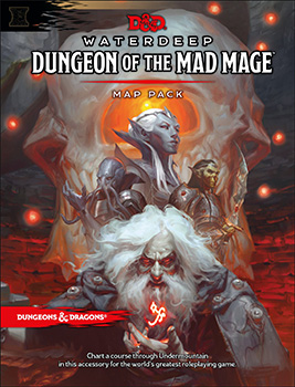 D&D 5th Edition - Dungeon of the Mad Mage Map Pack