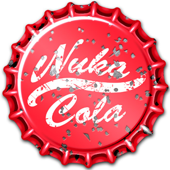 Fallout: Wasteland Warfare - Nuka Cola Caps Set