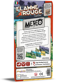 Flamme Rouge: Meteo - Italiano