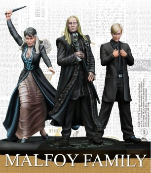 Harry Potter Miniature Adventure Game - Famiglia Malfoy