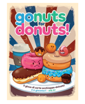 Gonuts for Donuts - Italiano