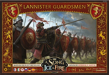 A Song of Ice and Fire - Guardie Lannister