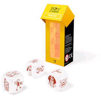 Story Cubes Mix - Salvataggio