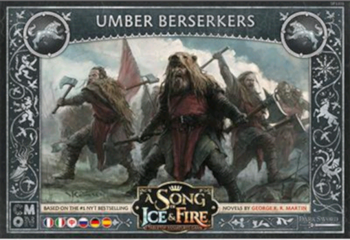 A Song of Ice and Fire - Berserker Umber