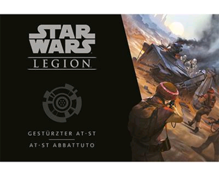 Star Wars - Legion - AT-ST Abbattuto